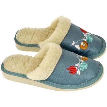 Boty Ženy Papuče John-C Dámske modré papuče ALESYA mix