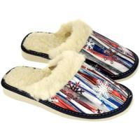 Boty Ženy Papuče John-C Dámske farebné papuče ZINAIDA mix