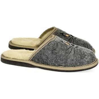 Boty Ženy Papuče John-C Dámske sivé papuče KITT sivá