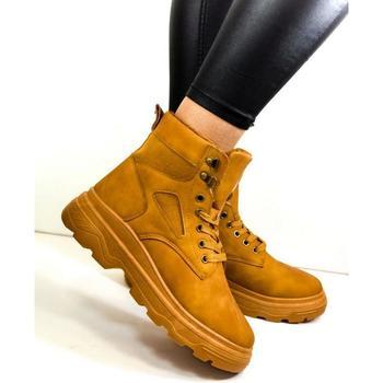 Boty Ženy Kotníkové boty Seastar Dámske hnedé členkové čižmy LAEN ťavia