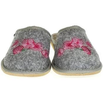 Boty Ženy Papuče Just Mazzoni Dámske sivé papuče PETRANA sivá