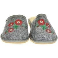 Boty Ženy Papuče Just Mazzoni Dámske sivé papuče PETRA sivá
