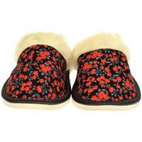 Boty Ženy Papuče John-C Dámske čierno-červené papuče KIM červená