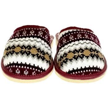 Boty Ženy Papuče John-C Dámske bordové papuče DÁŠA bordová