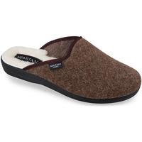 Boty Muži Papuče Mjartan Pánske hnedé papuče  GABRIEL hnedá