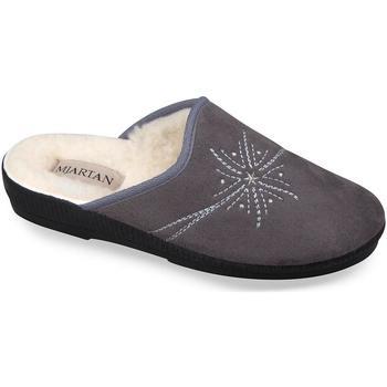 Boty Ženy Papuče Mjartan Dámske papuče  HELEN 3 sivá