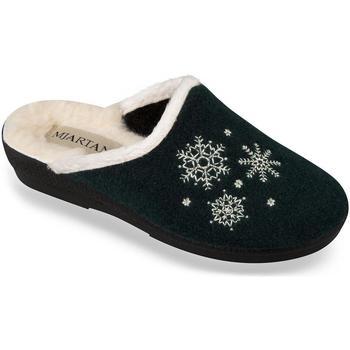 Boty Ženy Papuče Mjartan Dámske papuče  LISA 5 tmavozelená