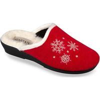 Boty Ženy Papuče Mjartan Dámske papuče  LISA 4 červená