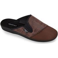 Boty Muži Papuče Mjartan Pánske papuče  PALO 3 hnedá