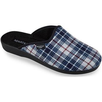 Boty Muži Papuče Mjartan Pánske papuče  LYNES 2 modrá