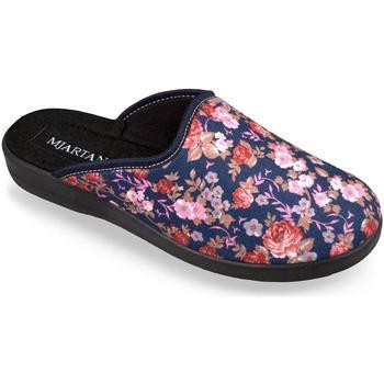Boty Ženy Papuče Mjartan Dámske papuče  ADELA 5 tmavomodrá
