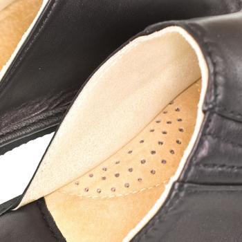 Boty Muži Papuče Just Mazzoni Luxusné pánske čierne kožené papuče GERRY čierna