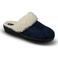 Boty Ženy Papuče Mjartan Dámske modré papuče  KIKA tmavomodrá