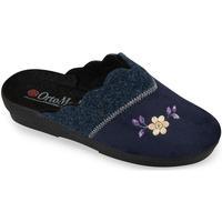 Boty Ženy Papuče Mjartan Dámske modré papuče  ALALIE tmavomodrá