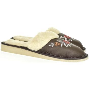 Boty Ženy Papuče John-C Dámske tmavosivé papuče SILVANA tmavosivá