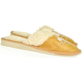 Boty Ženy Papuče John-C Dámske žlté papuče MATILDA žltá