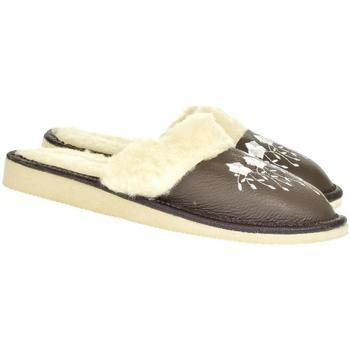 Boty Ženy Papuče John-C Dámske sivé papuče MATILDA tmavosivá
