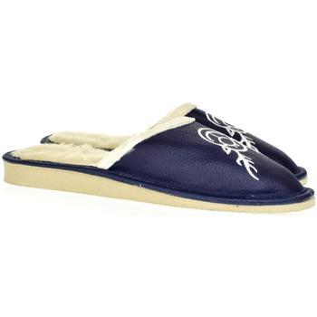 Boty Ženy Papuče John-C Dámske modré papuče JELENÍK tmavomodrá