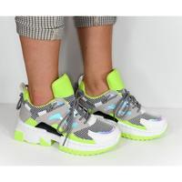 Boty Ženy Nízké tenisky Seastar Dámske zelené tenisky CUESTO svetlozelená