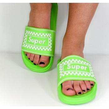 Boty Ženy pantofle Seastar Dámske zelené šľapky SUPER ružová