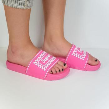 Boty Ženy pantofle Seastar Dámske ružové šľapky SUPER ružová