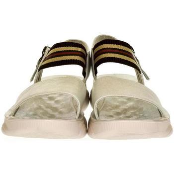 Boty Ženy Sandály Yal Dámske strieborné sandále SICILIA strieborná