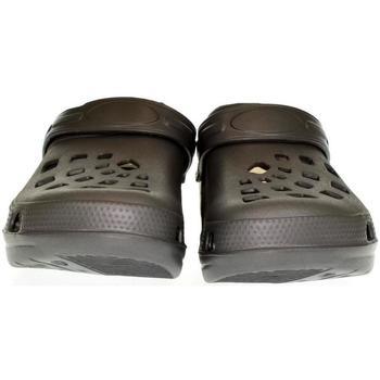 Boty Muži Pantofle John-C Pánske sivé crocsy EXTE tmavosivá