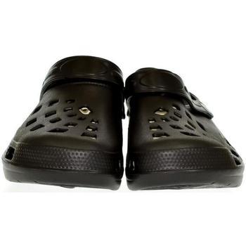 John-C Pantofle Pánske čierne crocsy EXTE - Černá