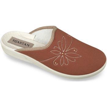 Boty Ženy Papuče Mjartan Dámske papuče  ENIS koralová