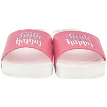 Boty Ženy pantofle John-C Dámske biele šľapky HAPPY biela