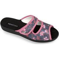 Boty Ženy Papuče Mjartan Dámske papuče  MARINA čierna