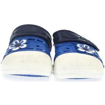 Boty Děti Pantofle John-C Detské modré crocsy ERI modrá