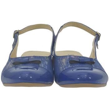 Boty Ženy Sandály John-C Dámske tmavo-modré sandále EVELINE modrá