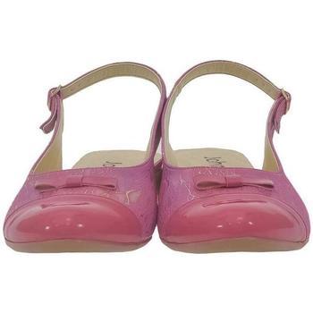 Boty Ženy Sandály John-C Dámske tmavo-ružové sandále EVELINE ružová