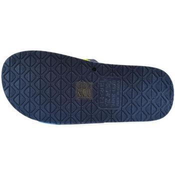 Boty Děti pantofle John-C Detské tmavo-modré šľapky CATI tmavomodrá