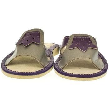 Boty Ženy Papuče John-C Dámske fialové papuče ULA fialová