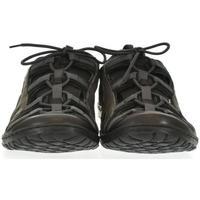 Boty Muži Sandály Krezus Pánske sivé kožené topánky VINCENT tmavosivá