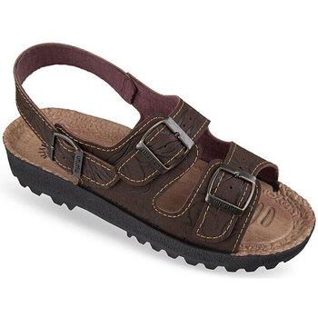 Boty Ženy Sandály Mjartan Pánske sandále  MALVIN hnedá
