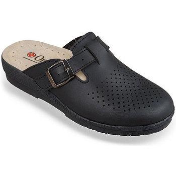 Boty Ženy Papuče Mjartan Dámske čierne papuče  DORIS čierna