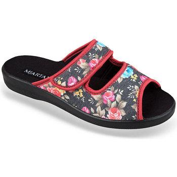 Boty Ženy Papuče Mjartan Dámske papuče  MARINA 5 čierna