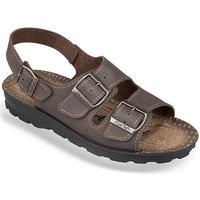 Boty Ženy Sandály Mjartan Pánske sandále  SIMON hnedá