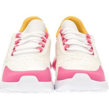Boty Ženy Nízké tenisky Yes Smile Dámske bielo-ružové tenisky LONAI biela