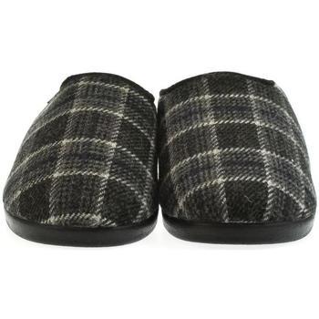 Boty Muži Papuče Mjartan Pánske papuče  MIKI tmavosivá