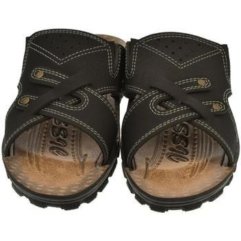 Boty Muži Dřeváky Mjartan Pánske papuče  ENRIQUE 2 čierna