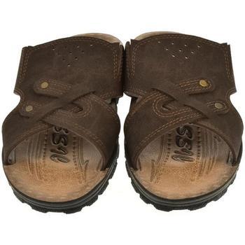 Boty Muži Dřeváky Mjartan Pánske papuče  ENRIQUE hnedá