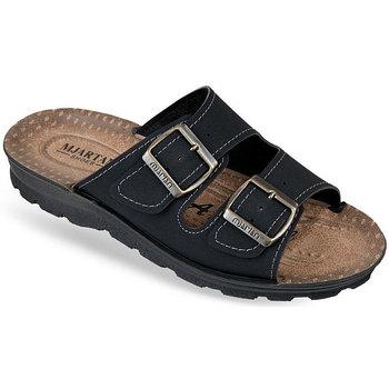 Boty Muži Dřeváky Mjartan Pánske papuče  ENUTAN čierna