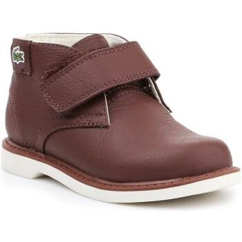 Boty Děti Kotníkové boty Lacoste 730SPI301177T Hnědé
