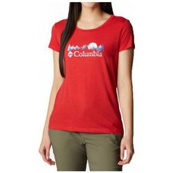 Textil Ženy Trička s krátkým rukávem Columbia