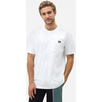 Textil Muži Trička s krátkým rukávem Dickies Porterdale tshirt mens Bílá