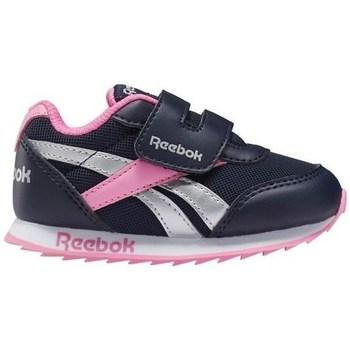 Boty Dívčí Nízké tenisky Reebok Sport Royal CL Jogger Černé, Stříbrné, Růžové